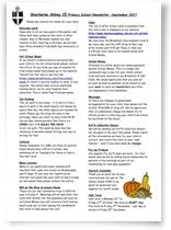 Newsletter Sherborne Abbey Primary Sept 2017